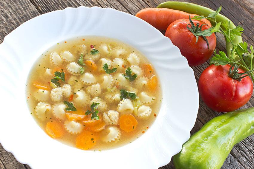 47 Platos de cuchara con verduras para mantener la línea en