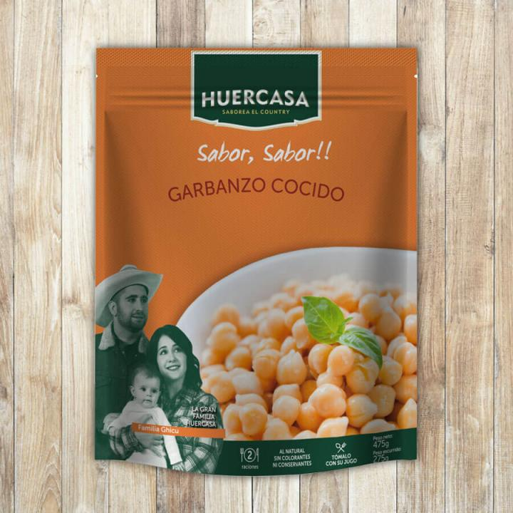 Huercasa cooked Chickpeas